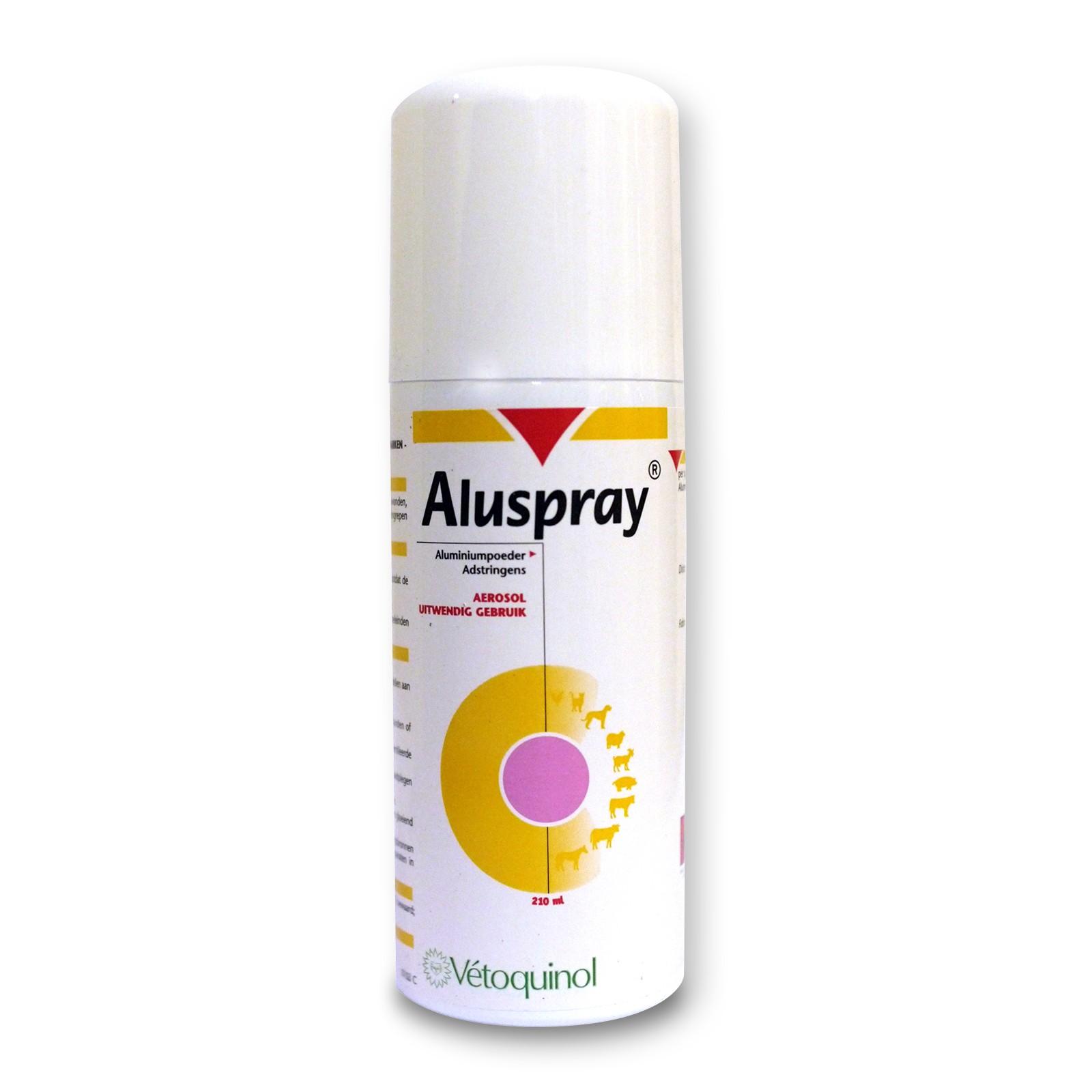 Aluspray 210Ml Vetoquinol (Aluminio Polvo Micronizado )