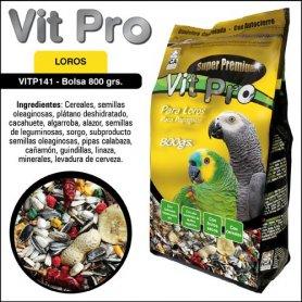 Mixtura Multifruta 800gr para Loros - Vit Pro
