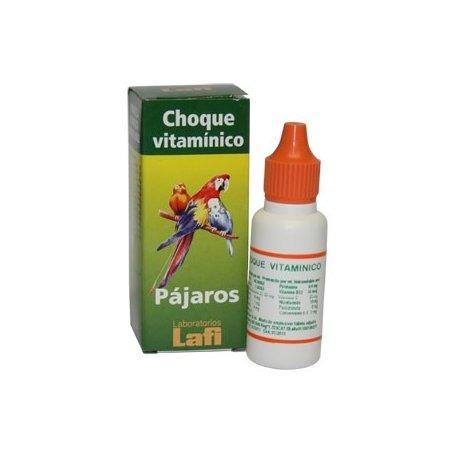 Choque vitaminico con aminoácidos 20 ml - Lafi