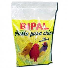 PASTA AMARILLA 500GR CON PROBIOTICOS CRIA PAJAROS - BIPAL