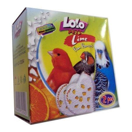 Lolo Pets Bloque (M) Mineral Naranja para pájaros