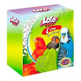 Lolo Pets Bloque (M) Mineral Manzana para pájaros