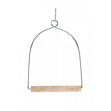 Columpio para Loros con palo de madera - Pilesan