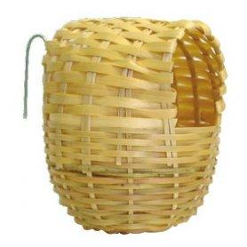 Nido (Grande) de Bamboo para pájaros Exóticos