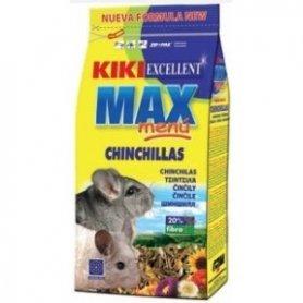 KIKI MAX MENU COMIDA PARA CHINCHILLAS 800GR.