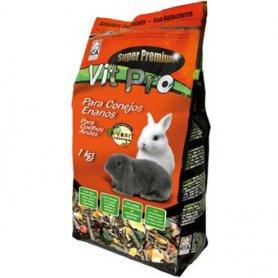 Comida 1kg Conejos Enanos Adultos - Vit Pro