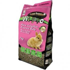 Comida 1kg Conejos Enanos Baby - Vit Pro