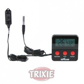 Termometro Higrometro Digital Con Sensor Remoto Trixie