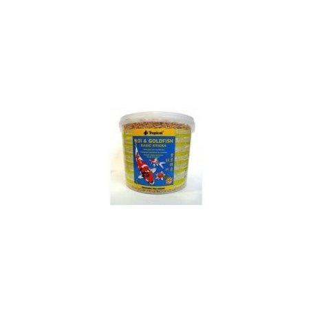 Alimento Koi Y Golfish Tropical Cubo 21 Ltr