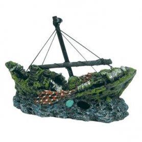 Barco Naufragio Mediano Ica