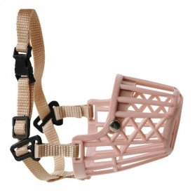 Bozal plástico cerrado T:M (20cm) cintas ajuste nylon