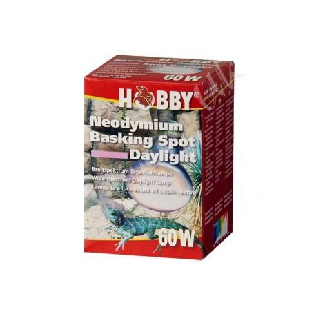 Lampara 60w Hobby Neodymium Basking Spot Daylight