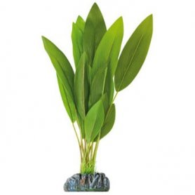 Planta Plastica Anubia Verde 30Cm