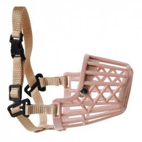 Bozal plástico cerrado T:XXL (35cm) cintas ajuste nylon