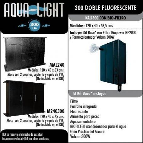 Kit Acuario Aqualight 300L
