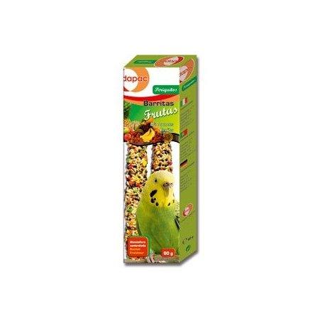 Barritas Frutas Periquitos 2 X 30Gr Dapac