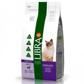 Libra Cat Sterilized 15Kg Para Gatos Adultos Sterilizados