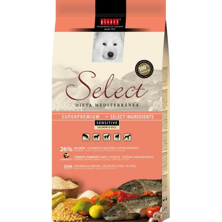 Select Menu Sensitive Salmon Y Arroz 15Kg