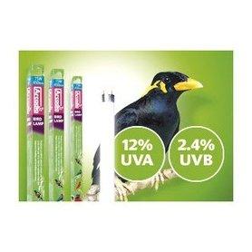 Tubo Fluorescente Luz Artificial Especial Para Pajaros 18W