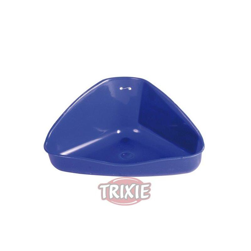 Bandeja Esquina Higienica Roedores Plastico 16X7X12Cm
