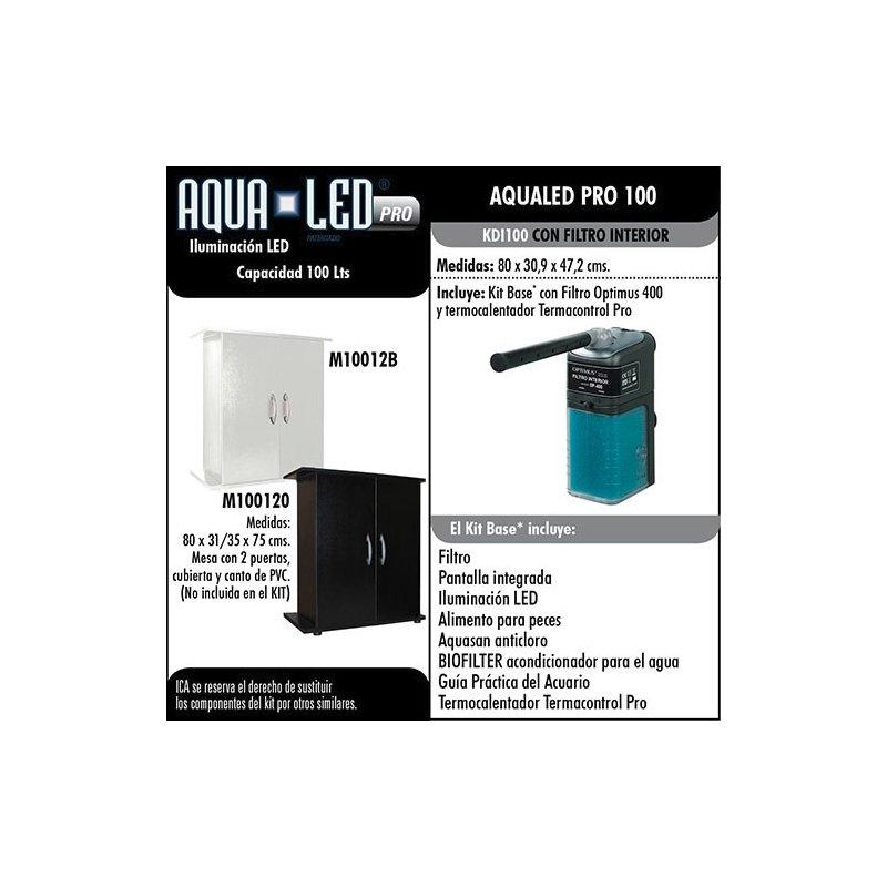 Kit Acuario Aqualed 100 Litros