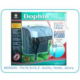 Filtro de Mochila Dophin A5000 Agua dulce y salada