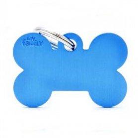 Chapa Identificativa Big Bone De My Family Azul