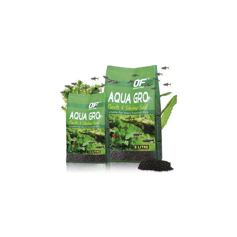 Aqua Gro 8Ltrs Sustrato Plantas Fertil