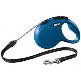 Correa Extensible Flexi New Classic Medium 20Kg 5 Metros Azul