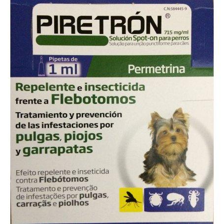 Pipetas Para Perros Piretron 1Ml Para Perros De Hasta 15Kg 1 Pipeta