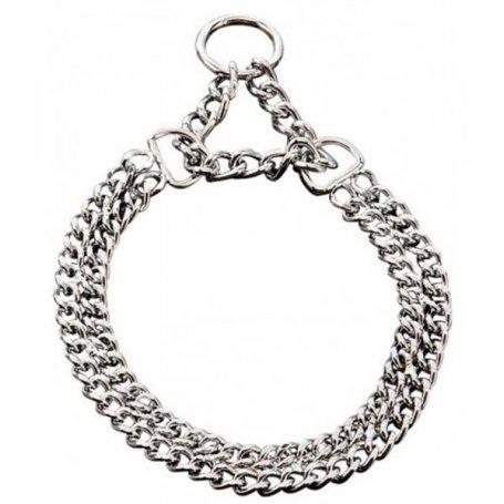 Collar Doble Cadena 28-38Cm Arppe