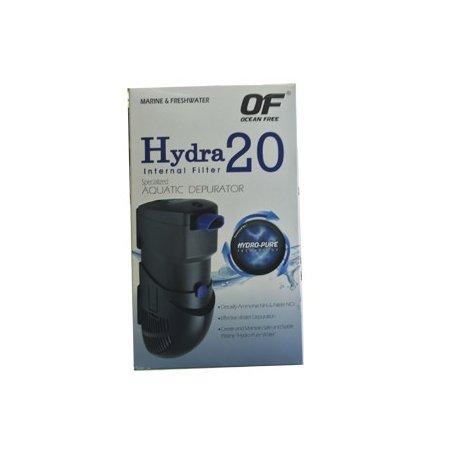 Filtro Interno Hydra 20  Hasta 100L Tecnologia Hydro-Pure