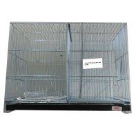 Jaula de cría para pájaros 44cm - 2 Departamentos