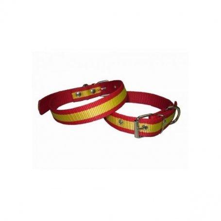 Collar Nylon Bandera EspañA 30Cm