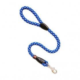 Correa Nylon Redondo Azul Y Blanco 110 X 1,6Cm, Arppe