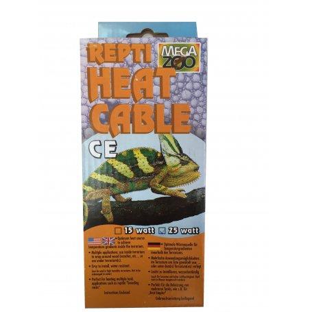 Cable Calentador Reptiles 15W 3,5 Mts Mega Zoo