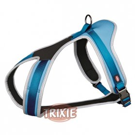 Arnes Para Perros Canicross Talla S 30-50 Cm 15/Mm Azul