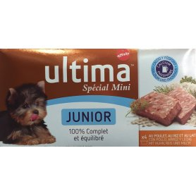 Ultima Dog Mini Junior Multipack 150Gr 4Latas