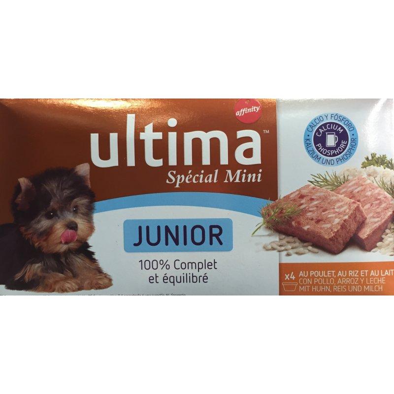 Ultima Dog Mini Junior Multipack 150Gr 4Latas