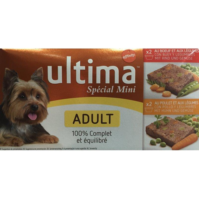 Ultima Dog Adult Mini 150Gr Pack 4Latas