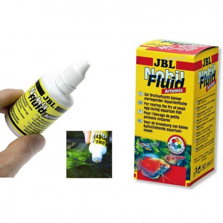 Jbl Nobil Fluid Artemia 50 Ml - Alimento Crias Oviparos