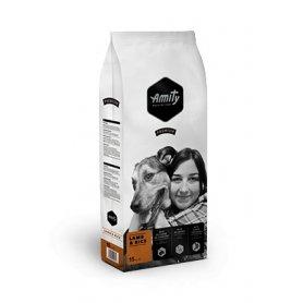 Amity Cordero Y Arroz 15 Kg Pienso Para Perros Premium