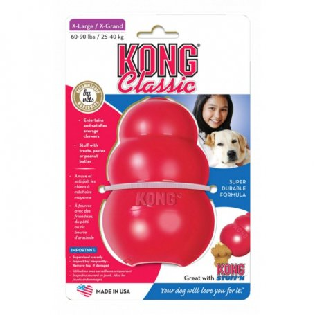 Kong Toy Giant Rojo