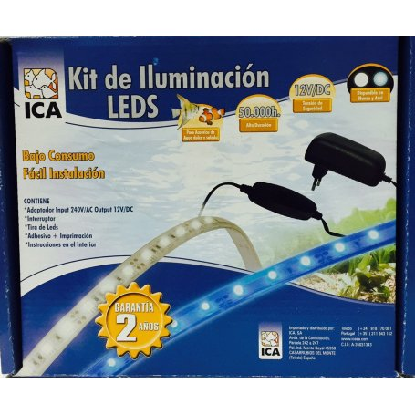 Kit Iluminacion De Led Blanco 85 Cm 740 Litros