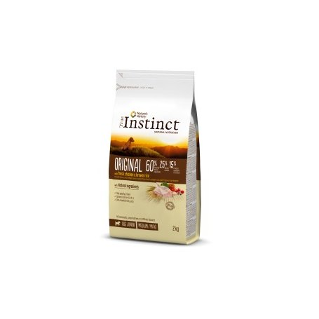 Pienso Para Perros Junior True Instinct Original Medium - Maxi 600Gr