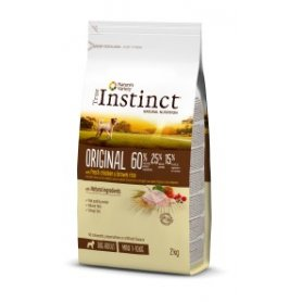 Pienso Para Perros Mini Adultos True Instinct Original Con Pollo 0,6Kg