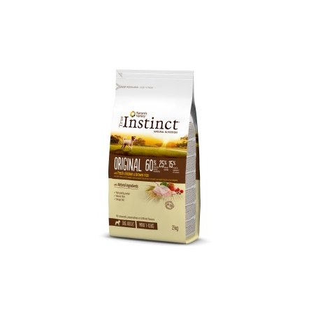 Pienso Para Perros Mini Adultos True Instinct Original Con Pollo 2Kg