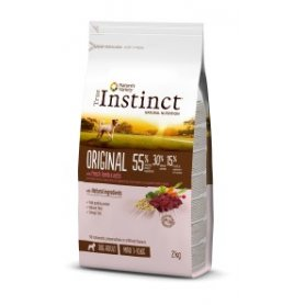 Pienso Para Perros Mini Adultos True Instinct Original Cordero 2Kg