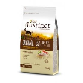 Pienso Gatos True Instinct Original Con Pollo Y Arroz Adult 0,3Kg