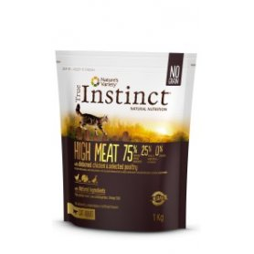 Pienso Gatos True Instinct High Meat Pollo 1Kg